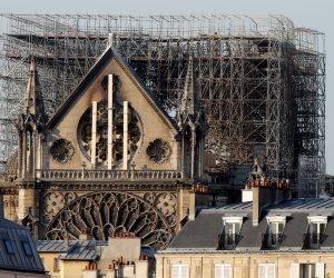 مخاوف من انهيار سقف «نوتردام».. كارثة أخرى تهدد الكائدرائية الشهيرة (صور)