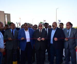 محافظ القاهرة يفتتح شارع ٣٠٦ بشيراتون