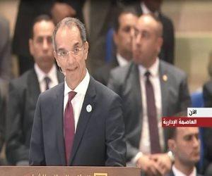 إطلاق 18 خدمة إلكترونية بالمنصة الرقمية فى بورسعيد.. والسيسي: ألف مبروك