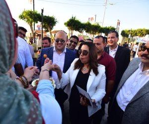 محافظ دمياط تفتتح شارع «٣٠٦» بكورنيش النيل
