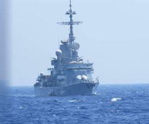 القوات البحرية المصرية والفرنسية تنفذان تدريب بحرى عابر بالبحر المتوسط