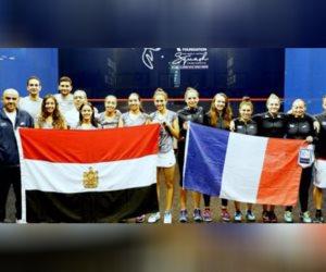 ناشئات مصر للاسكواش يتغلبن على فرنسا 3-0 في بطولة العالم بماليزيا