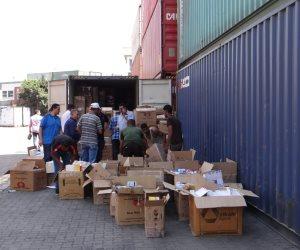 شرطة ميناء الإسكندرية تحبط تهريب 2 مليون عبوة دواء مدعم من الدولة (صور)