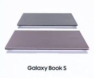 جهاز Galaxy Book S.. ثمرة تعاون قوية بين سامسونج ومايكروسوفت