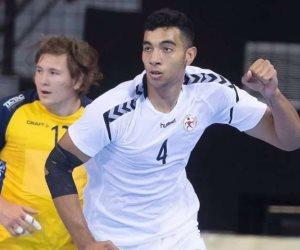 منتخب مصر لناشئ كرة اليد يتصدر مجموعته بكأس العالم ويلتقى الخاسر من سلوفينيا و النرويج فى دور الـ16