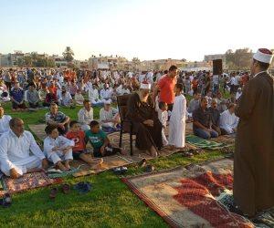 أرض الفيروز عيدنا.. أهالي شمال سيناء يؤدون صلاة العيد في 35 ساحة بمختلف المدن (صور)