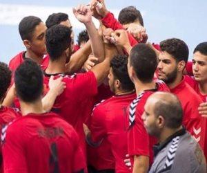 مباراة مصر وأيسلندا في كأس العالم لليد للناشئين.. المنتخب متقدم 21-14 في الشوط الأول
