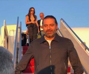 سعد الحريري يصل واشنطن في ملابس رياضية (صور)