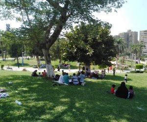 في ثالث أيام العيد.. غياب التحرش وزيادة أعداد زوار الحدائق العامة (صور)