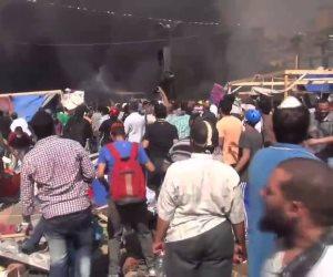 في الذكرى الـسادسة لفض رابعة.. تهديد ووعيد الإرهابية للشعب المصري (فيديو)