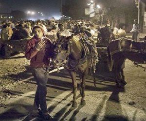 إلى مسئولي الجيزة: لماذا عادت سباقات «الكارو» بشوارع الهرم والمنيب؟