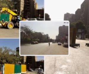 غلق شارع الهرم 3 سنوات وتحويل حركة السيارات لشوارع موازية لإنشاء محطة مترو