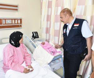 """""""البعثة الطبية للحج"""" أول حاجة مصرية تضع مولودتها بالسعودية وتسميها """"مكة"""""""