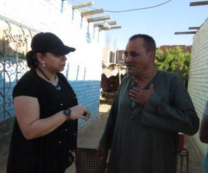 «صوت الأمة» داخل قرية منفذ التفجير أمام معهد الأورام (فيديو)