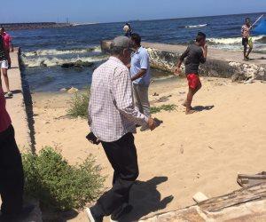 محافظة الإسكندرية تكشف حقيق ديدان شاطئ الدخيلة