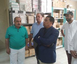 فور توليه رئاستها.. رئيس مدينة الشيخ زويد يتفقد مستشفى وشوارع المدينة