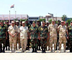 عناصر من القوات المسلحة تغادر للمشاركة في تدريب «حماة الصداقة- 4» بروسيا