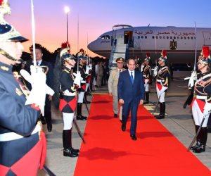 الرئيس السيسي يصل «بياريتز» الفرنسية للمشاركة في قمة مجموعة الدول السبع
