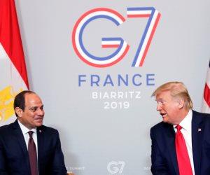 العلاقات المصرية الأمريكية تثير «فزع» الإخوان.. ومنابر الضلال تواصل التدليس