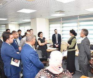 «تنسيقية شباب الأحزاب» تزور مركز المعلومات ودعم اتخاذ القرار بـ«الوزراء»