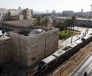 «ترام القدس».. مشروع إسرائيلي جديد يثير غضب الفلسطينيين