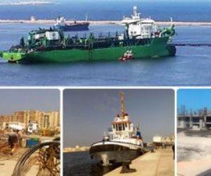 مشروعات ميناء الإسكندرية.. إنجاز مصري على طريق العالمية