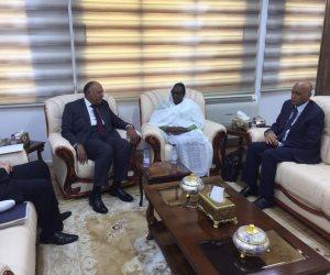 سامح شكرى يؤكد لنظيرته السودانية دعم مصر الكامل للسودان خلال المرحلة الانتقالية