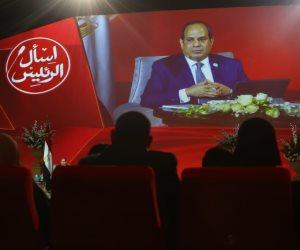 مصداقية جلسة «اسأل الرئيس» تهزم شائعات الإرهابية