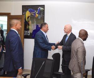 لمناقشة تطوير الكرة الإفريقية.. محمود الخطيب يشارك في اجتماعات الاتحاد الدولي مع الإفريقي
