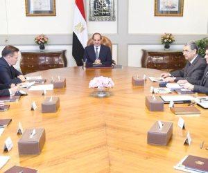 """السيسى يؤكد تطلع مصر لمواصلة التعاون مع """"روس أتوم"""" لإنشاء محطة الضبعة وفقاً لأعلى المعايير"""