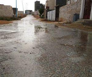 سقوط أمطار خفيفة بشكل متقطع على مطروح والساحل الشمالى (صور)