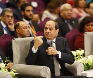 الرئيس السيسي: نعيد صياغة الدولة المصرية وميكنة كاملة لقواعد البيانات