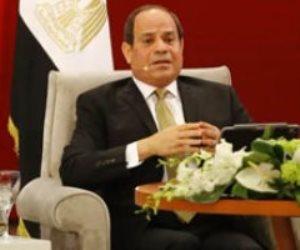 """الرئيس السيسي: """"العفى محدش يقدر ياكل لقمته.. ومصر مش هتبقى عفية إلا بيكم"""""""