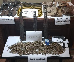 الداخلية: مقتل مجموعة إرهابية بشمال سيناء كانت تخطط لتنفيذ هجمات على ارتكازات أمنية (صور)