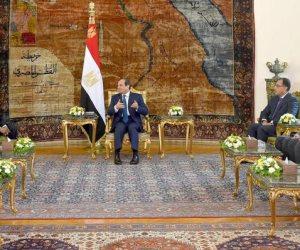 السيسي يؤكد على دعم مصر لأمن واستقرار السودان