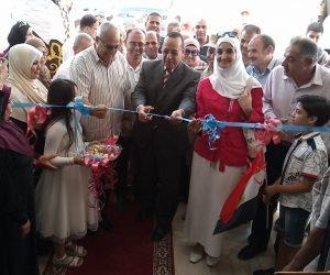 بنسبة تخفيض15%...محافظ شمال سيناء يفتتح معرض السلع المعمرة والمفروشات بالعريش (صور)
