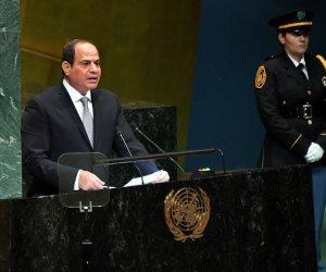 ملفات علي أجندة السيسي في الأمم المتحدة... أبرزها الإرهاب وتنمية إفريقيا
