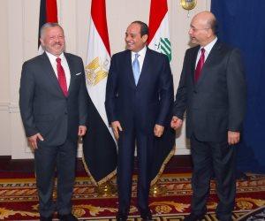 السيسى يعقد قمة ثلاثية «مصرية- أردنية- عراقية» بمقر إقامته بنيويورك