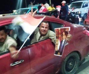 مسيرات ضخمة في السويس لتأييد الرئيس عبد الفتاح السيي