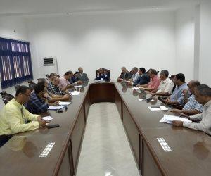 رئيس جامعة العريش: لن نسمح بدخول طالب دون كارنيه وسنفعل القانون (صور )
