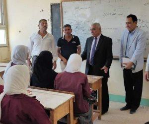 وكيل تعليم شمال سيناء يحيل مدير مدرسة برفح و6 معلمين للتحقيق لعدم الانضباط وارتفاع نسبة الغياب (صور)