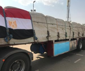 مصر ترسل الحزمة الثانية من المساعدات الإنسانية إلى السودان