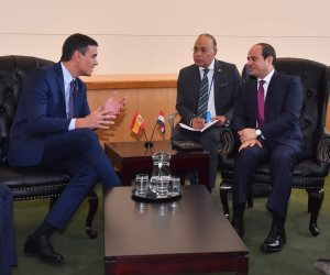 رئيس وزراء أسبانيا للسيسى: نتطلع لمواصلة التشاور مع مصر لتعزيز الاستقرار في الشرق الأوسط