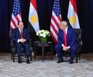 البيت الأبيض: ترامب ناقش مع الرئيس السيسي سبل وقف إطلاق النار في ليبيا