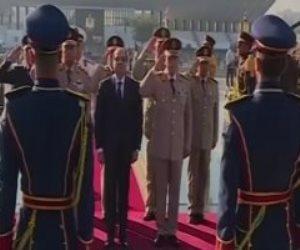 السيسى يترأس اجتماع المجلس الأعلى للقوات المسلحة (فيديو)