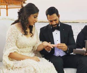 القيصر يدخل عش الزوجية.. حسني عبدربه يحتفل بعقد قرانه