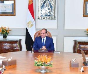 الرئيس السيسي يجتمع مع «مدبولي» و «شاكر» لمتابعة تنفيذ مشروعات الكهرباء