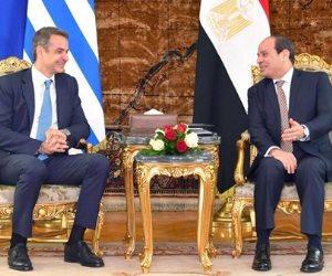 السيسي: آلية التعاون مع اليونان وقبرص فرصة لتنسيق الجهود تجاه تحديات المنطقة