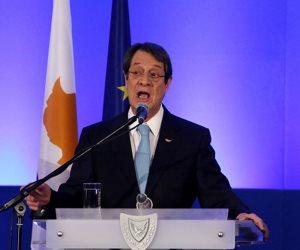 رئيس قبرص: آلية التعاون مع مصر واليونان هدفها إحلال السلام والاستقرار بالمنطقة