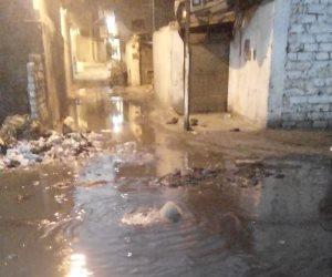 المياه تغرق منازل «نجع النجار» في سوهاج.. والمسئولين خارج نطاق الخدمة (صور)